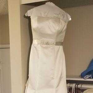 Wedding dress (0 - 2 petite)